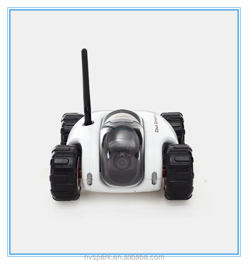 Wifi remote control car with wide angle camera