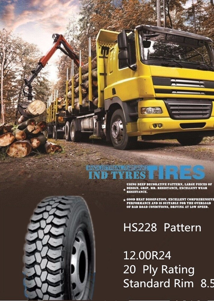 ENHANCE THE LOADING ABILITY TIRE 12.00R24 HS228 FOR HOT SALE