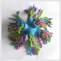 Colorful tpr noodles ball china factory import baby toys