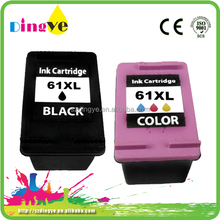 Ink Cartridges Wholesale for hp 61re-man ink cartridge for hp ch561w 61