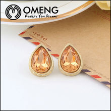 Hot Selling Natural Stone Sex Photos 2014 Trendy Stud Earring