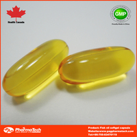 fish oil softgel health supplement