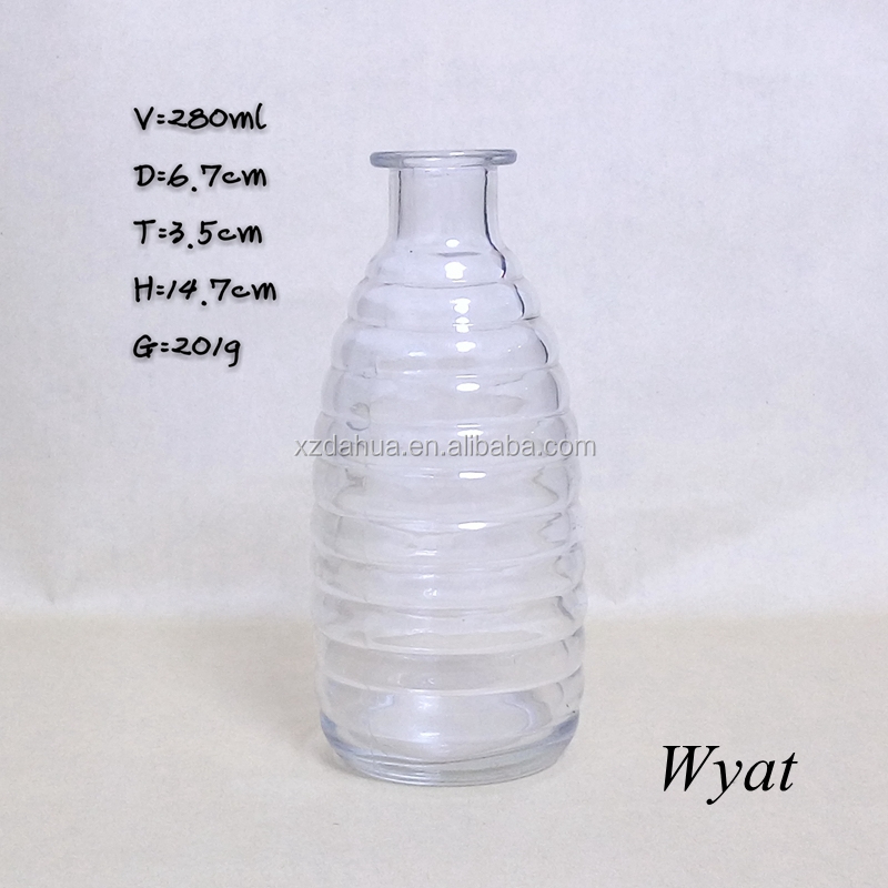 280ml glass fly catcher bottles glass pest or insect catcher