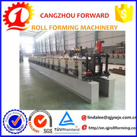 rain water valley gutter roll forming machine