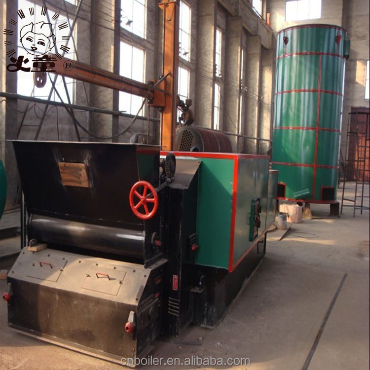 Biomass palm shell fired thermal oil boiler for industry