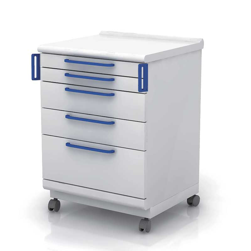 Europe Standard Dental Clinic Wall Cabinet with 5drawers