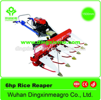 High efficiency Wheat corn rice soybeans reaper /hand rice reaper for sale