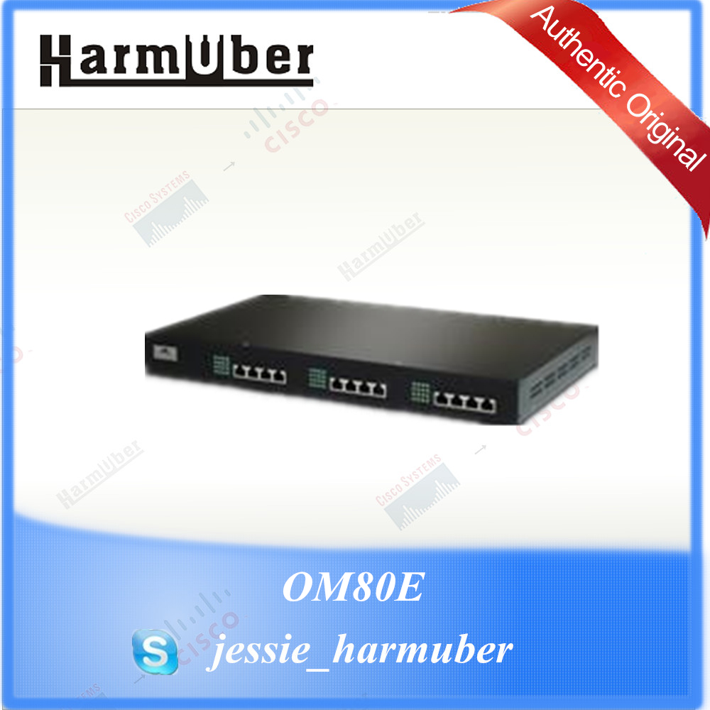 New Products New Rock Highly Integrated Hybrid IP-PBX OM80E