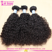 No tangle no shedding 7A grade curly brazilian hair brazilian remy loose curl weave