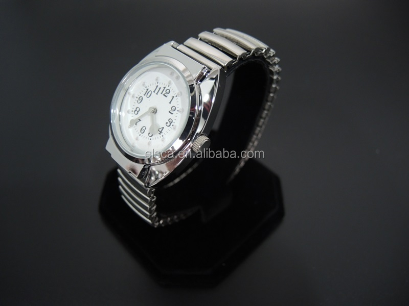 Factory wholsale braille watch expansion band Touch sense Braille quartz watch for blind people