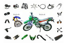 super sale dirt bike ZS200GY parts for Chinese motorcycle