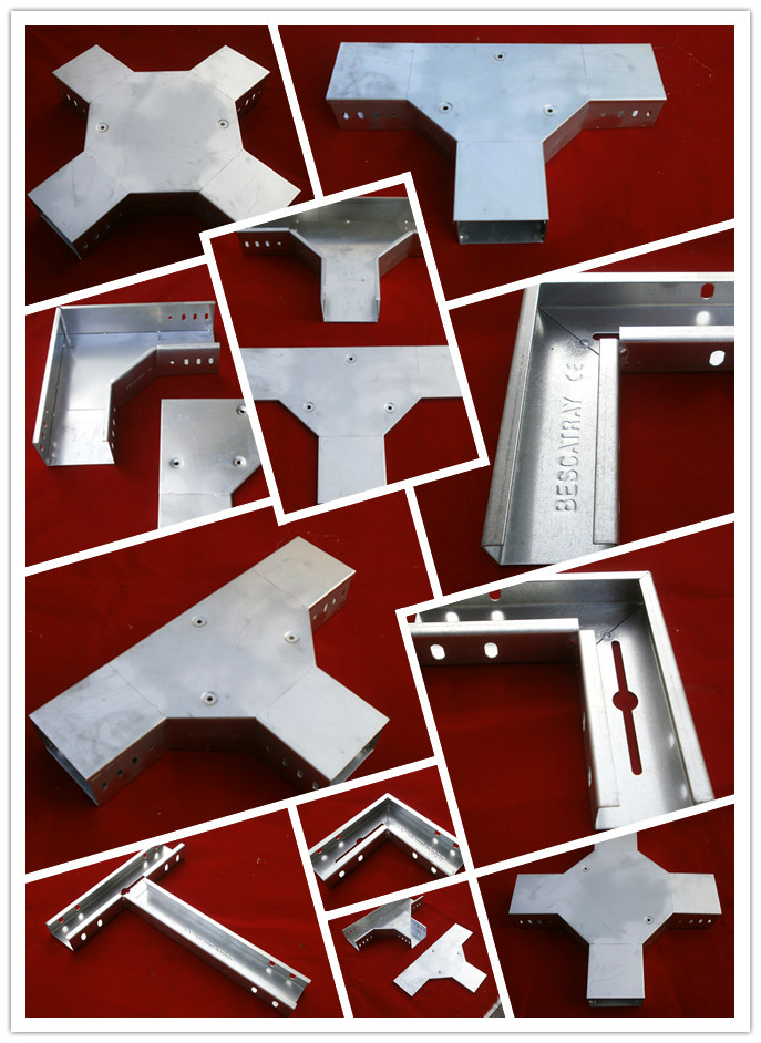 Hot Dip Galvanized Hdg En1461 Steel Cable Trunking Tray
