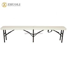 camping picnic plastic portable folding bench
