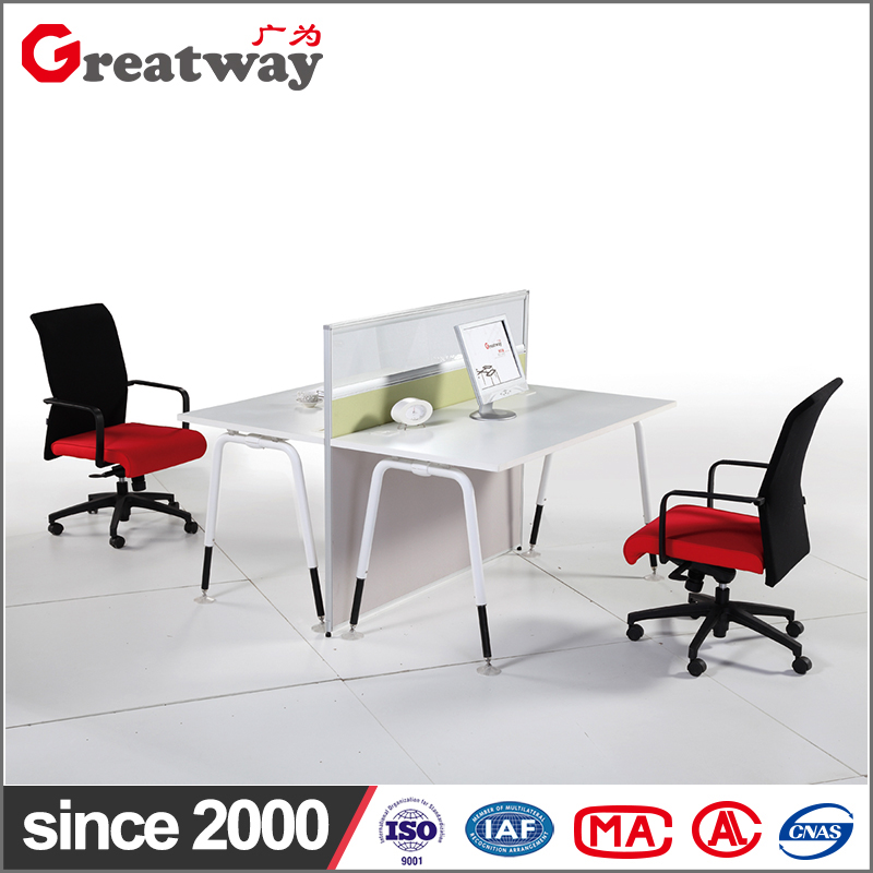 office furniture Accept customized workstation 2 person workstation office furniture china supplier