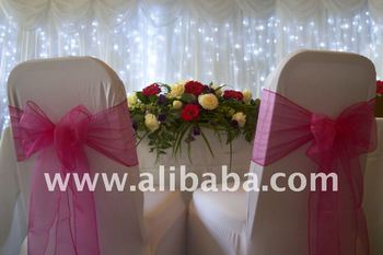 Beautiful Wedding Chair Covers & Sashes HIRE