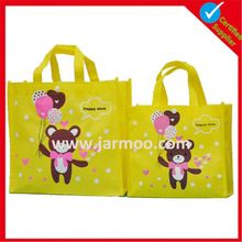 2016 China supplier customized reusable PP non woven bag wholesale