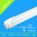 China Wholesale T8 5ft 24W 2400lm Dimmable red tube