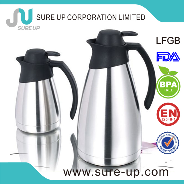 Hot sale thermos vacuum insulated stainless steel carafe for hot and cold 24 hours (JSUO)