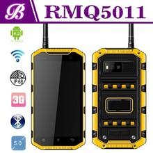 New 5 Inch IPS Screen MTK6589W Quad Core RAM 1GB ROM 8GB Battery 3000mAh Rugged Waterproof Android Mobile Phone with NFC