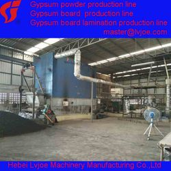 Building material for Gypsum powder production line
