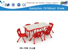 (HC-1706) Modern design used walmart kids table and chairs kids furniture sellers