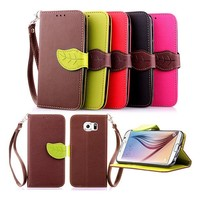 Flip Leaf Magnetic Wallet Pu Leather Card Stand Case Cover Skin for iphone 5 5s