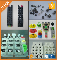 OEM custom design all different sizes silicon keypad