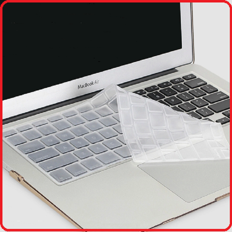 Silicone Keyboard protective film keyboard cover for Macbook 11 13 15 inch