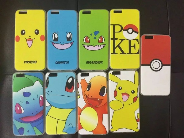 SA-55 RuiJiaxin customized tpu pc Printing Cell Phone case For Pokemon GO