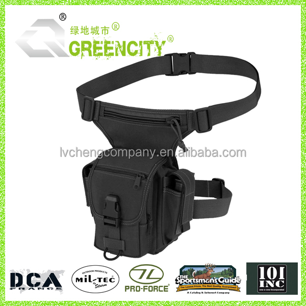 adjustable tactical thigh pistol gun holster