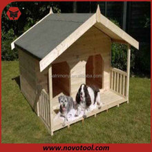 Luxury Two Doors wooden Dog House Dog Cage