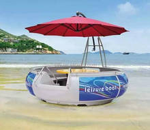 BBQ boat, The latest water play equipment, very interesting and popular BBQ boat
