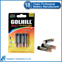 LR03 Battery manufacturer alkaline aaa battery