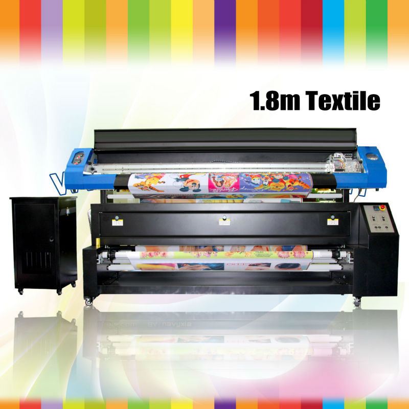 Special antique 1.8 meters digital textile printer