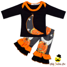 66TQZ520-2 American Girl Doll Matching Halloween Day Design Pumpkin Wholesale Cheap 18 Inch Doll Clothes