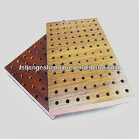 Perforated MDF acoustic ceiling board