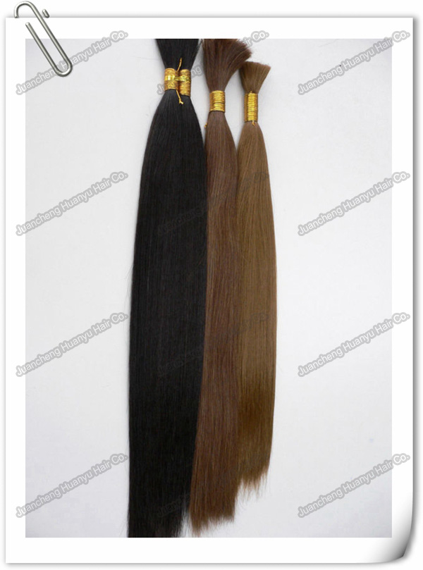 "hair bulk hair bundle 4"" to 32"" half wig clip in hair extensions"