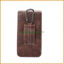 Pouch for samsung s7, Hung on Waist Leather Pouch case for Samsung S7