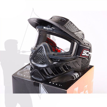 archery CS game tag safe Mask Type predator paintball mask
