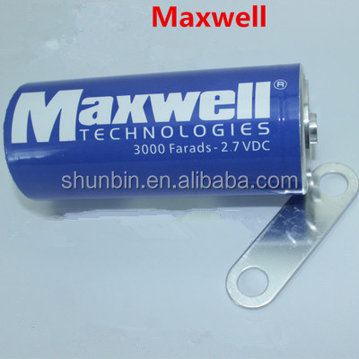 MAXWELL super capacitor 2.7v 3000f maxwell ultracapacitor