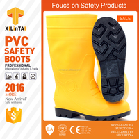 CE EN ISO 20345 S5 chemical resistant PVC Safety Boots