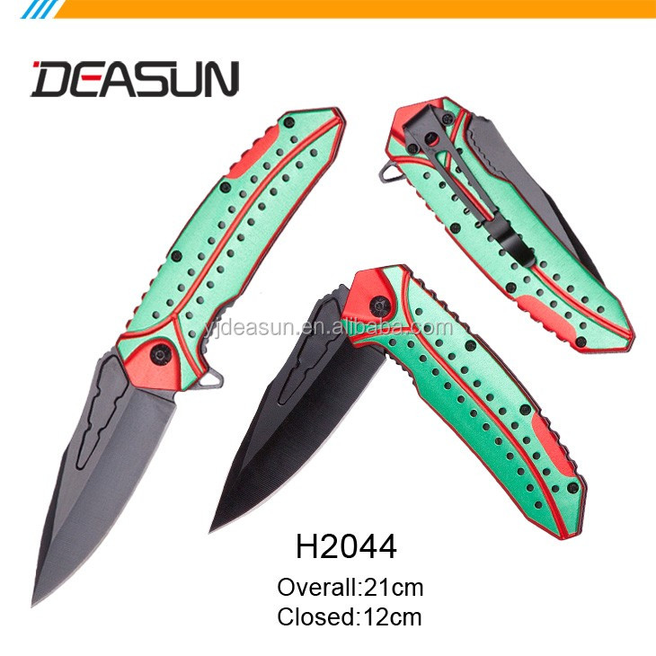 With rope stainless steel handle multi-purpose knife