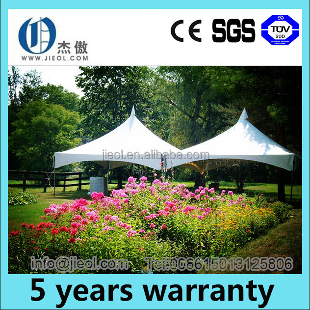 Large capacity multi-side party tent for hire business in EU