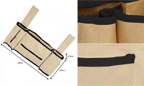 Delighful Bedside Caddy Storage Pocket To Design Inspiration