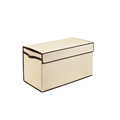 Top quality collapsible storage box custom fabric square home toy foldable storage box