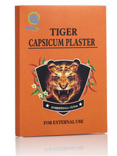 Chinese trandition herbal medical tiger plaster capsaicin patch with CE,ISO