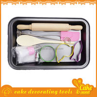Eco-friendly Baking Tools Cake Pan Rolling Pin Cookie Cutters