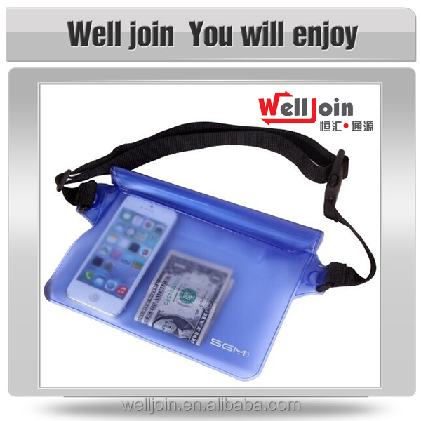 Promotional high quality multi purpose waterproof sport waist bag
