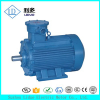 YB3 series 3 phase squirrel cage induction motor, 14kw ac electric motor