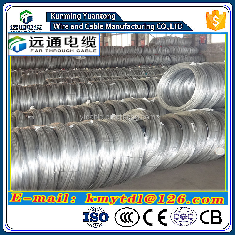 Hot Dipped Galvanized Steel Wire 8#--18# (4mm, 1.2mm)